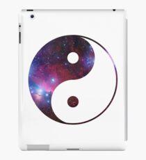 Ying und Yang Galaxie iPad-Hülle & Klebefolie