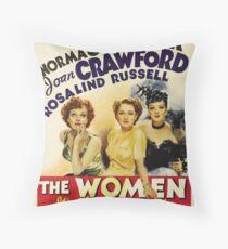 The Women - 1939 Throw Pillow