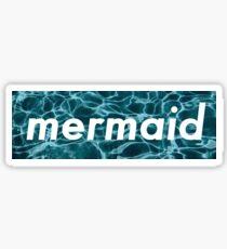 Dope Mermaid Sticker Sticker