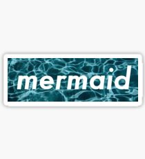 Autocollant Mermaid Dope Sticker