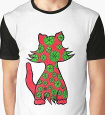Citrus Puss Graphic T-Shirt