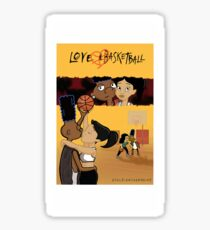 Love & Basketball Sticker