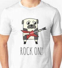 Rockstar Pug T-Shirt