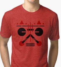 'Shades' - Abstract Geometric art with Constructivist inspirations Tri-blend T-Shirt