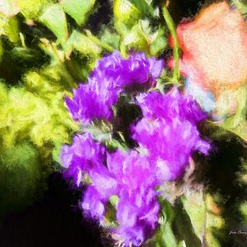 Impressionistic Floral Bouquet by JohnCorney