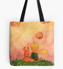 Prince and Fox Tote Bag