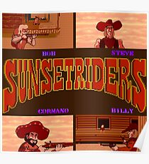 Sunset Riders (SNES) Poster