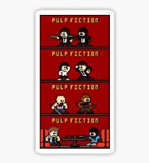 Mega Pulp Fiction Sticker