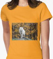 Arctic Wolf - Parc Omega, Quebec T-Shirt