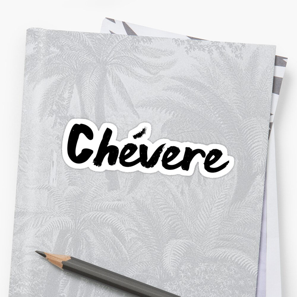 Chevere by luggagestickers