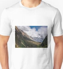 Hollyford Valley Lookout New Zealand Unisex T-Shirt