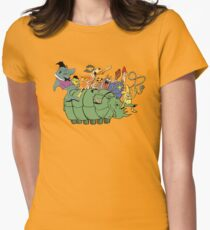 Tundro & Friends Womens Fitted T-Shirt