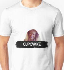CupcakKe Black Paint Smear Design Unisex T-Shirt