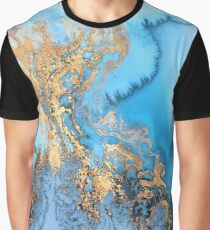 Marble watercolour Graphic T-Shirt