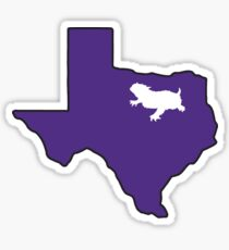 Fort Worth Horned Toad Sticker