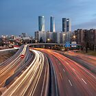 The Veins Of Madrid: M-607 Highway  by servalpe