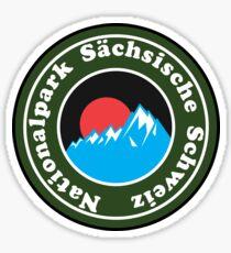 Nationalpark Sächsische Schweiz Saxon Switzerland National Park Germany Deutschland Sticker