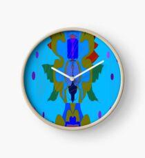 Mottif1. by Mickeys Art And Design.Biz Clock