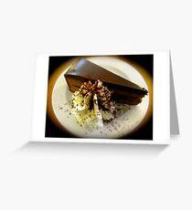Sacher Torte Greeting Card