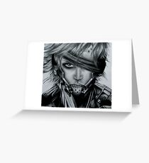 Raiden (Jack) Metal Gear Rising Greeting Card