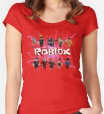 Roblox Women's Fitted Scoop T-Shirt