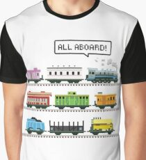 Ticket All Aboard Graphic T-Shirt