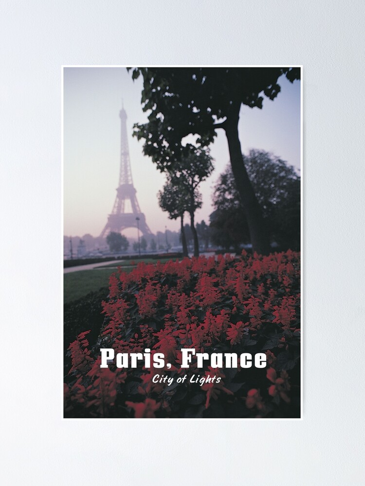 Alternate view of PARIS, FRANCE: City of Light Poster