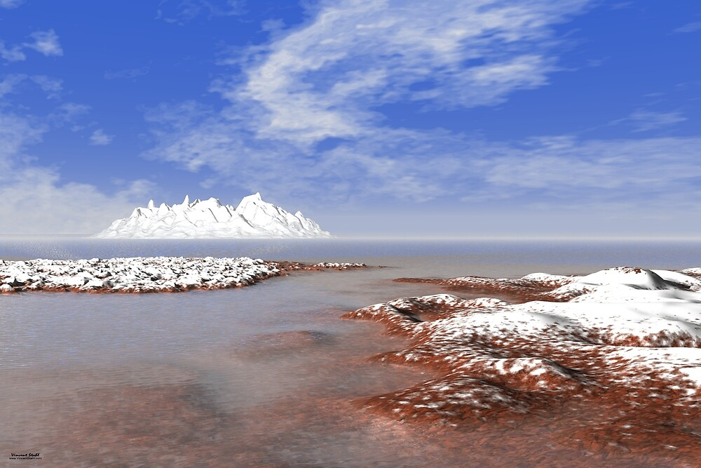 Silent Ice Coast by stahlworks