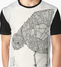 Metal Chicken Graphic T-Shirt
