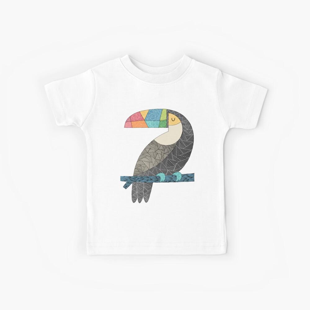 Tucan chilling Kinder T-Shirt