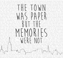 The Town Was Paper by Jacob Anderson