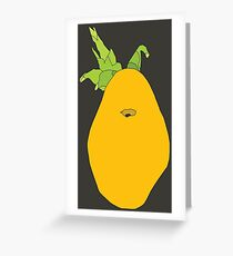 vegetables vector still life Greeting Card