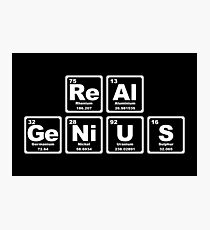 Real Genius - Periodic Table Photographic Print
