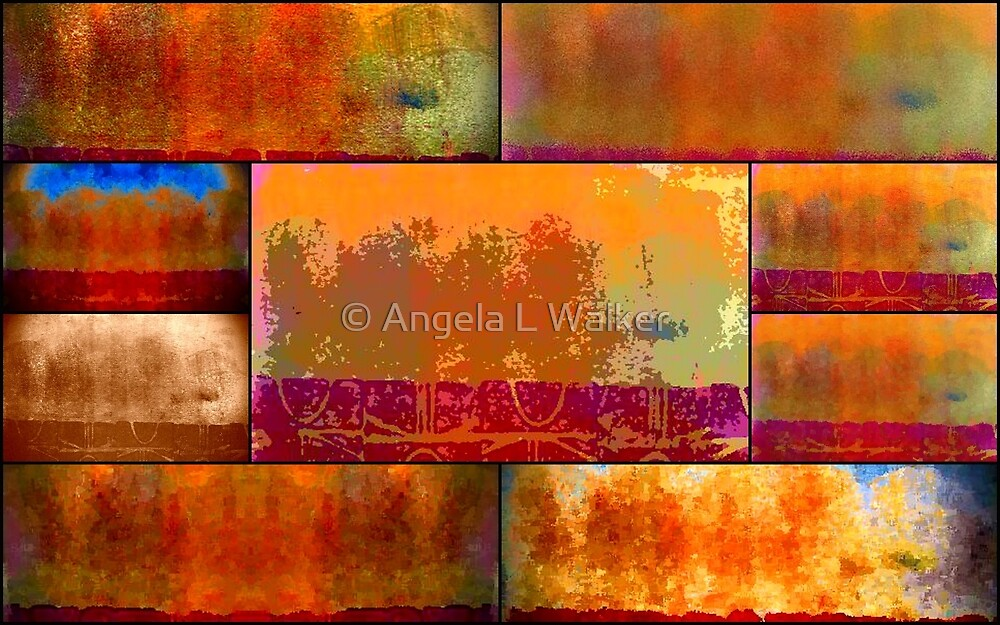 Wilderness Quilt by © Angela L Walker