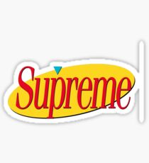 Supreme Seinfeld Collab Sticker