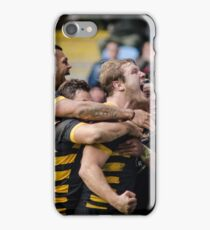 Joe Launchbury and friends celebrate his try iPhone Case/Skin