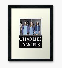 Charlies Angles Parody- Charles Manson Framed Print