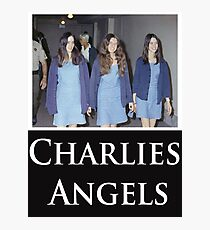 Charlies Angles Parody- Charles Manson Photographic Print