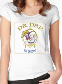 Sailor Moon Dr Dre the Chronic cover Parody tee Women's Fitted Scoop T-Shirt