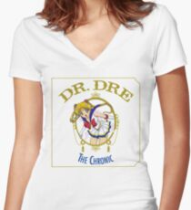 Sailor Moon Dr Dre the Chronic cover Parody tee Women's Fitted V-Neck T-Shirt