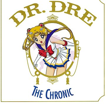 Sailor Moon Dr Dre the Chronic cover Parody tee by moonaholic