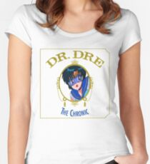 Sailor Mercury Dr Dre the Chronic cove  Women's Fitted Scoop T-Shirt
