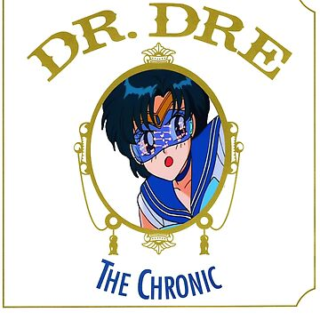 Sailor Mercury Dr Dre the Chronic cove  by moonaholic