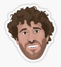 Lil Dicky Vector Sticker Sticker