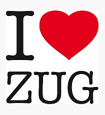 I ♥ ZUG Photographic Print