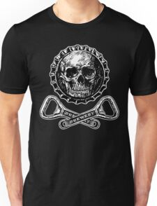 Bottle Cap Jolly Roger Unisex T-Shirt