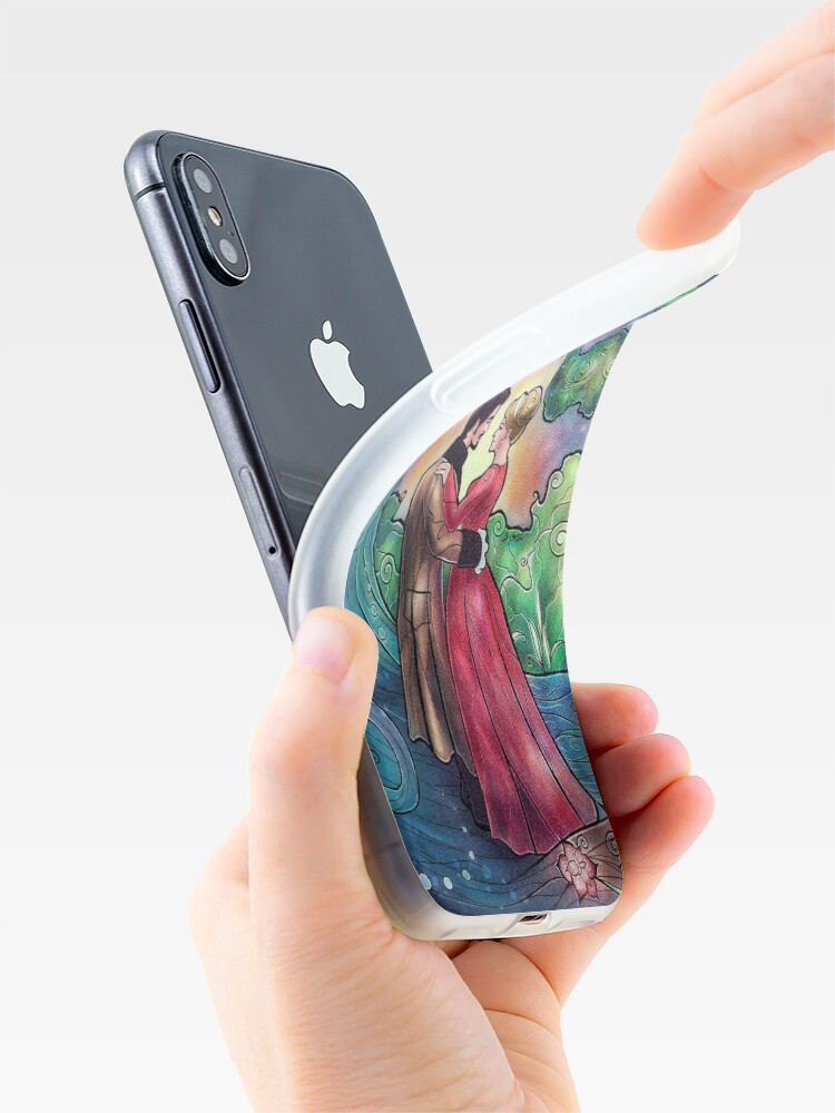 Alternate view of It Always Starts With A Dance iPhone Case