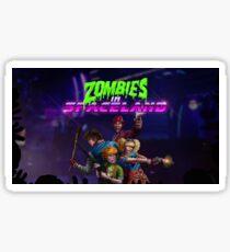 Zombies In Spaceland Infinite Warfare Zombies Sticker