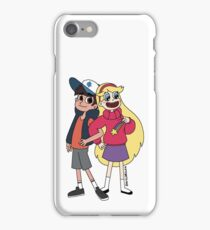 Star Vs The Forces Of Gravity Falls iPhone Case/Skin