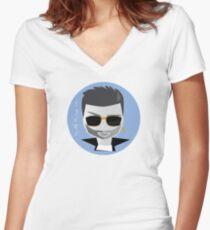 Tribute Women's Fitted V-Neck T-Shirt